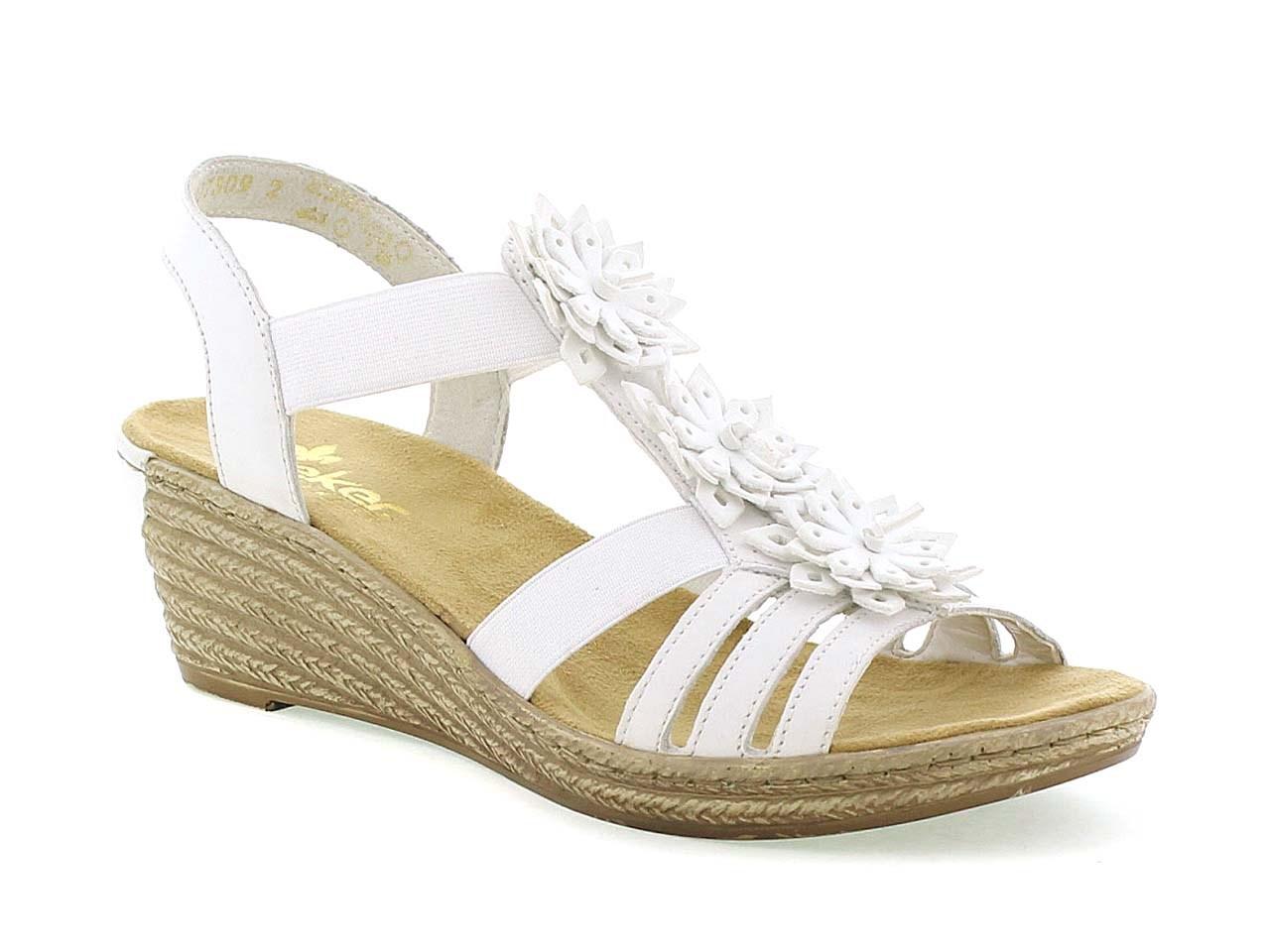 rieker vit sandal